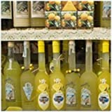 CafePress - Bottles Of Limoncello, A Lemon Liqueu - Tile Coaster, Drink Coaster, Small Trivet