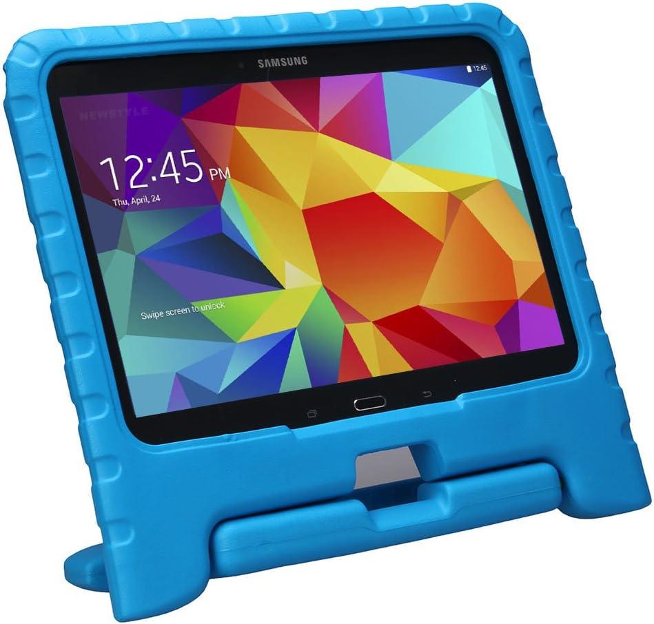 Funda niños para Samsung Galaxy Tab 4 10.1 celeste
