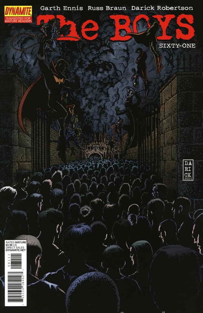 Amazon.com: Boys, The #61 VF/NM ; WildStorm comic book: Entertainment  Collectibles