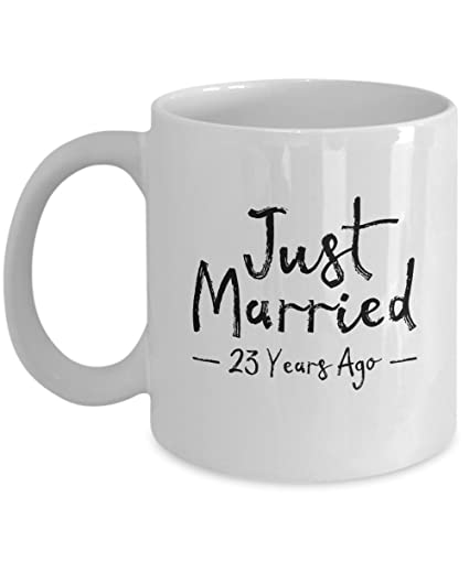 Amazon 23rd Wedding Anniversary Gift Just Married 23 Years