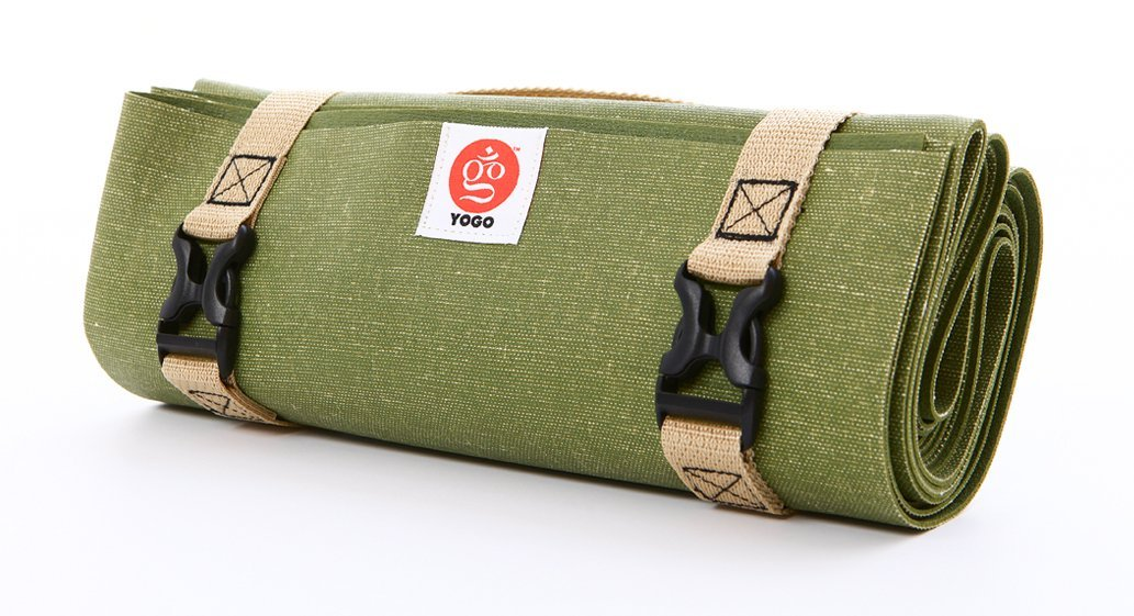 Yogo Reise-Yogamatte 2.0, leichtgewichtig, Waldgrün