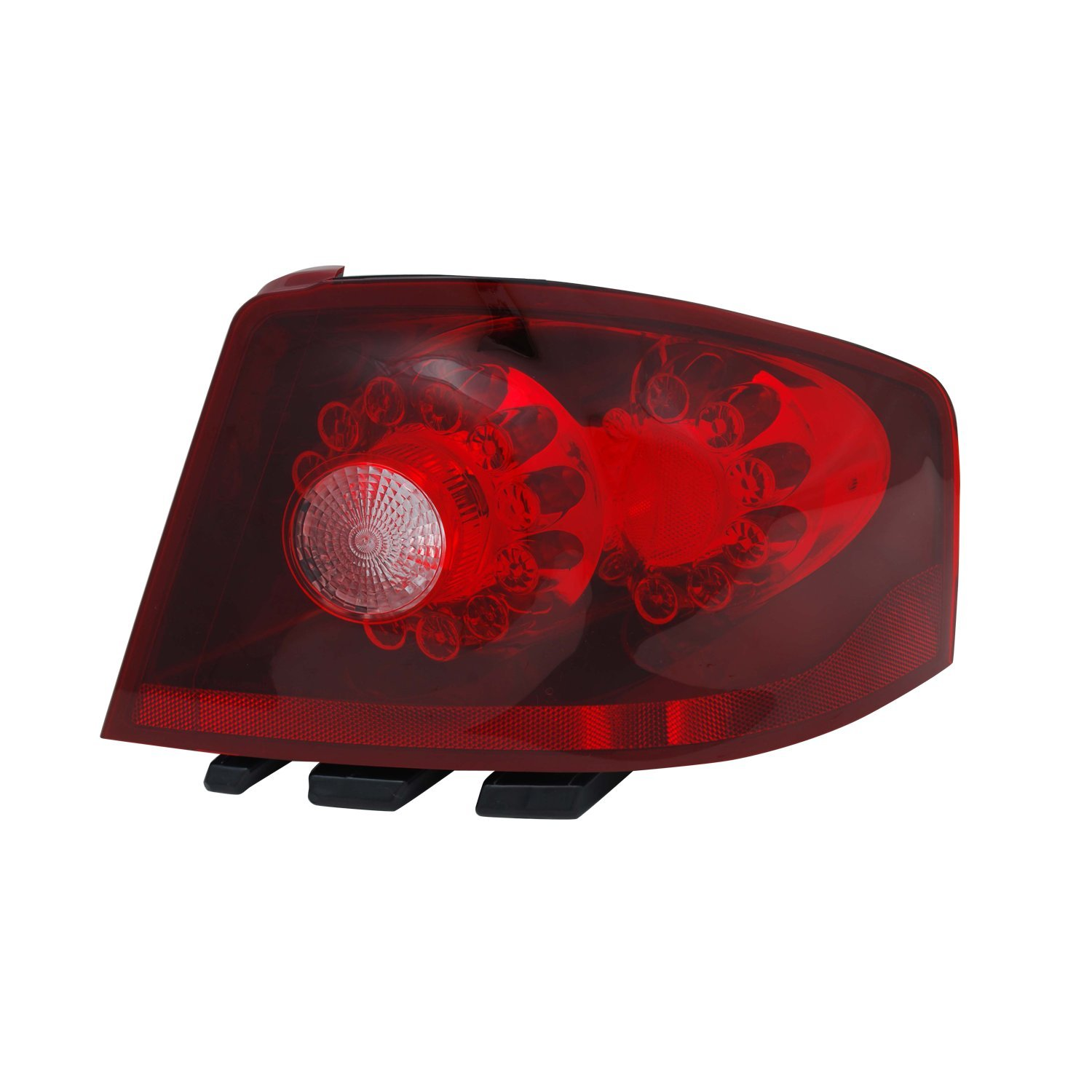 Pack of 1 TYC 11-6437-00-9 Dodge Avenger Right Replacement Tail Lamp
