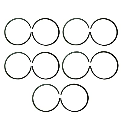 New 10x47mm Piston Rings For 66cc 80cc Engine Motorised Bicycle Bike: Automotive