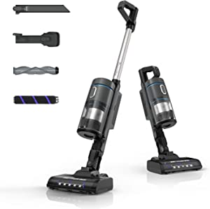 Cordless Vacuum Cleaner, Bagotte 21KPa Powerful Suction 9-in-1 Stick Vacuum Cleaner, Lightweight Handheld Vacuum with Rechargeable Lithium-Ion Battery for Home Hardwood Floor Carpet and Pet Hair