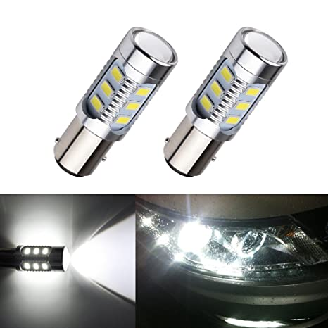 S & D Coche Luces 12 SMD Cree XPE LED Auto Freno de cola Bombillas 12