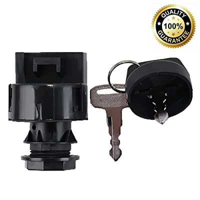 Ignition Switch Keyswitch Key For Polaris RZR Ranger XP 570 800 900 1000 Replaces Part #4011002 4012165: Automotive