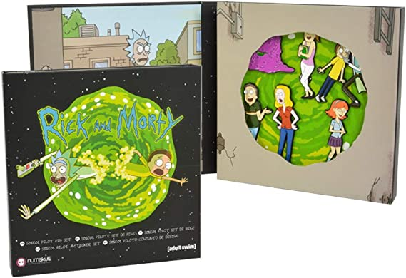 numskull Rick and Morty Pin Badge Set S01E01 Pilot: Amazon.es: Ropa y accesorios
