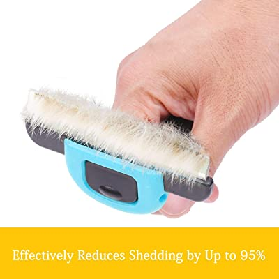 Pet Grooming Brush Effectively Reduces Shedding by Up to 95% Professional Deshedding Tool for Dogs