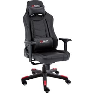OPSEAT Grandmaster Series Computer Gaming Chair Racing Seat PC Gaming Desk Office Chair - Black