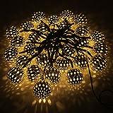 FREE HOME Solar Outdoor Globe Lamp String,Christmas Tree...