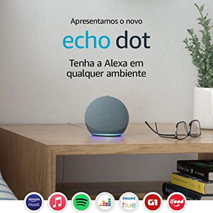 Novo Echo Dot (4ª Geração): Smart Speaker