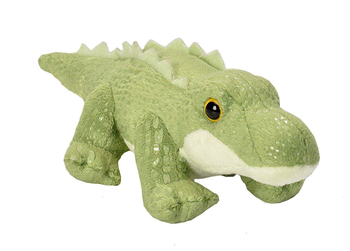 7b517470336 Wild Republic 18103 15 cm CK Lil s Plush Alligator Crocodile  Amazon.co.uk   Toys   Games