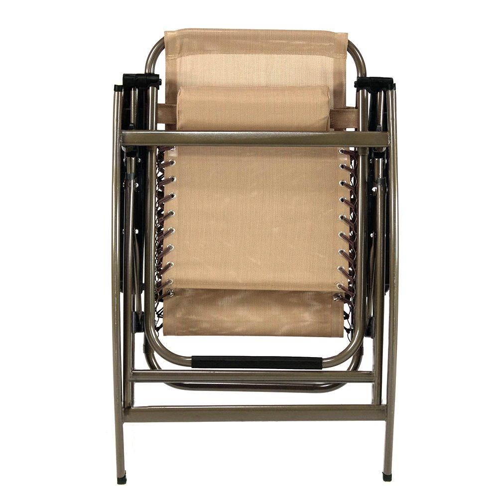 Kawachi Folding Zero Gravity Reclining Chair With Adjustable Headrest For  Patio Garden K356: Amazon.in: Home U0026 Kitchen