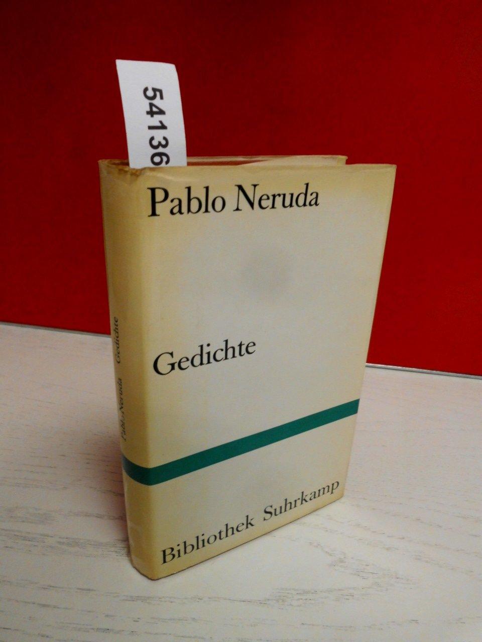 Gedichte Spanisch Und Deutsch Pablo Neruda 9783518010990
