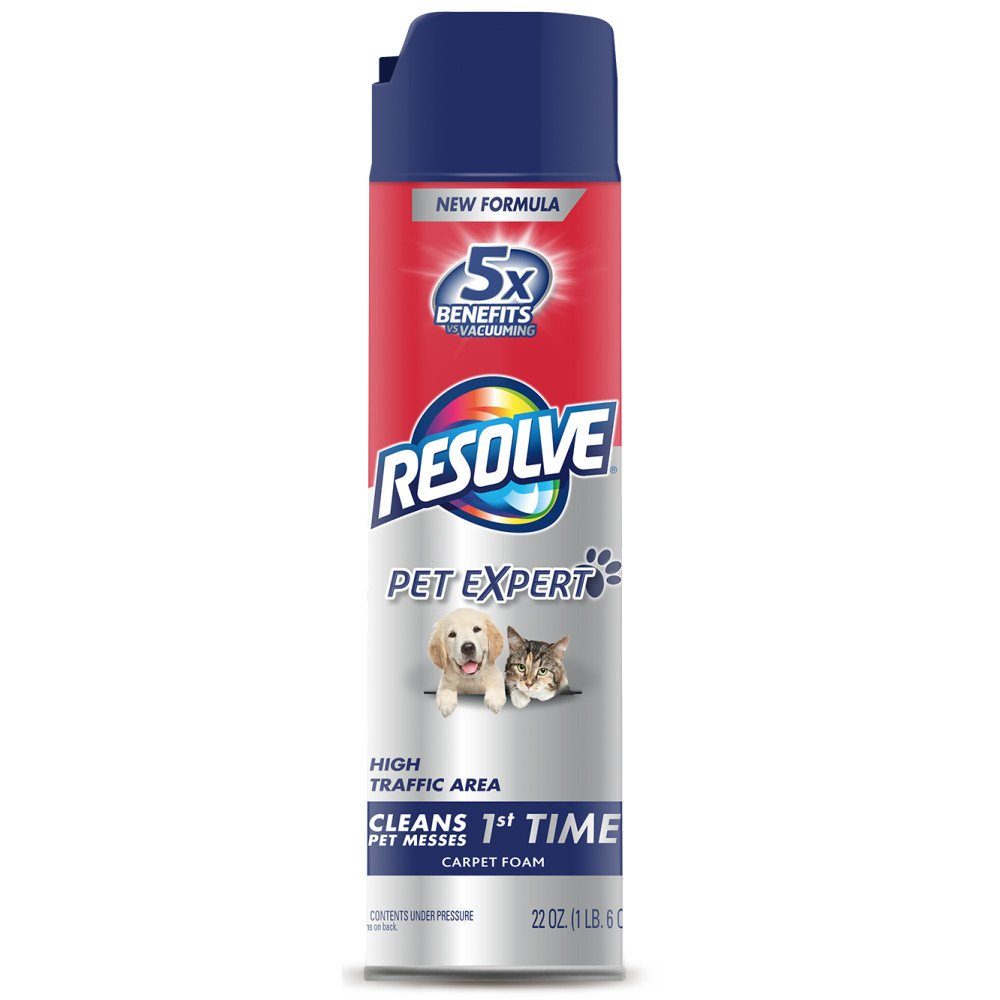 Resolve Pet Expert High Traffic, Carpet Foam, 22 oz YLY-037