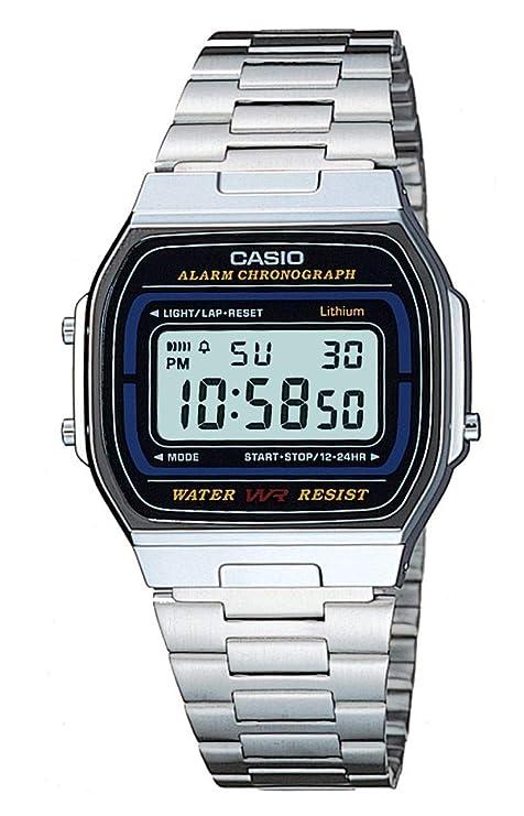 6e677d9dc00e Casio Reloj de Pulsera A164WA-1VES  Casio  Amazon.es  Relojes