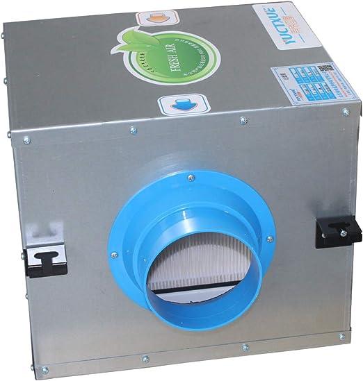 Caja filtro aire en linea filtro vmc 100 110 125 150 160 200 250mm ...