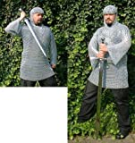 Kettenhemd L verzinkt ,lang, 12,5 x 1,5 mm Ringe