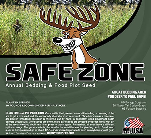 Horny Buck Food Plot Seed - Safe Zone Blend