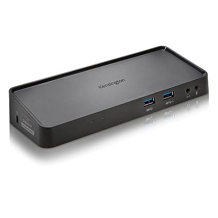 Kensington K33997WW - Replicador Universal de Puertos Doble 2K USB 3.0 (Sd3650) con Salidas