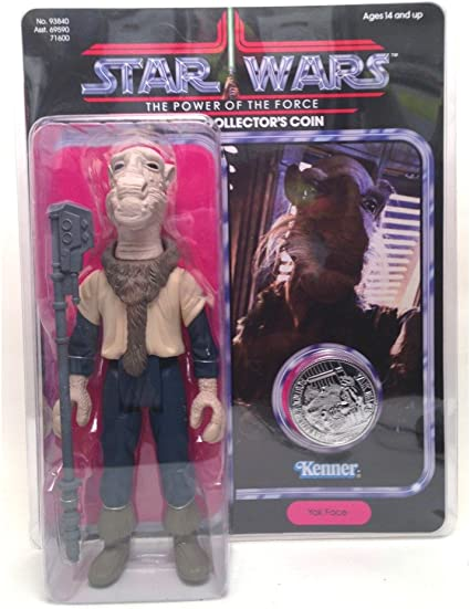Star Wars Replacement Yak Face Staff For Vintage Figure