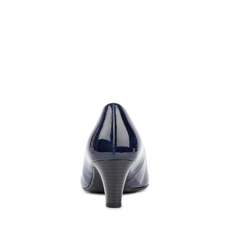 165e035d20d Gabor Nesta 95.300.76 Navy Patent Court Shoe: Amazon.co.uk: Shoes & Bags