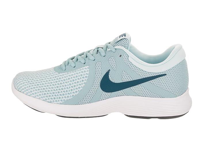 c2112a50053ce Nike Women's Revolution 4 Running Shoe Ocean Bliss/Blue Force/Glacier Blue  Size 8.5 M US