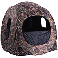 TANGKULA Hunting Tent Portable Hunting Blind Pop Up...