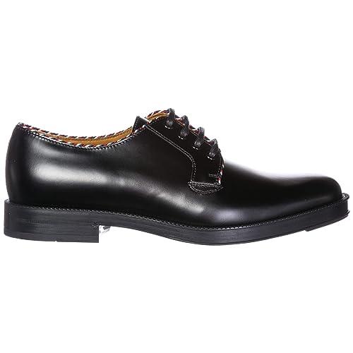 eeb55d3fad Gucci clásico Zapatos de Cordones Hombres en Piel Derby Negro EU 44  523278AZM601072  Amazon.es  Zapatos y complementos