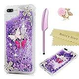 iPhone 6 Plus/iPhone 6S Plus Case (5.5), Mavis's Diary Bling Glitter Sparkle Flowing