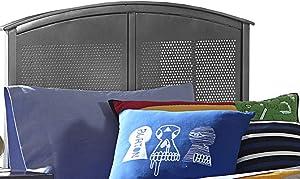Hillsdale Furniture Urban Quarters Headboard, Full, Black Steel
