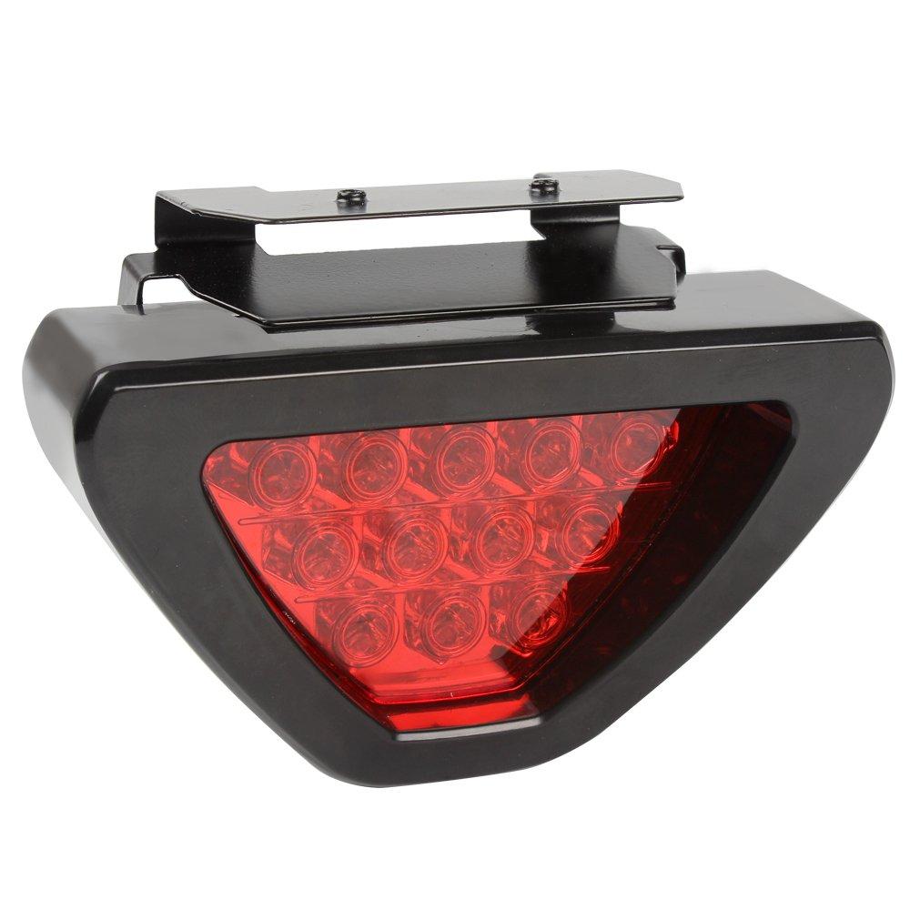 Itimo auto luce freno car-styling triangolo fanale LED flash fendinebbia lampadine spia luminosa