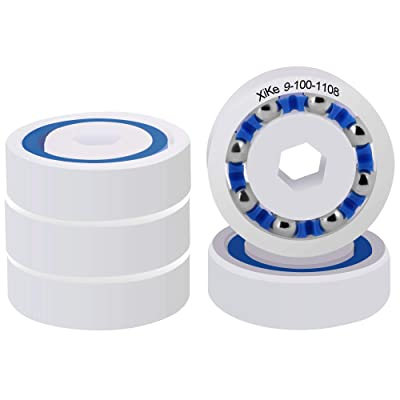 XiKe 5 Pack Wheel Ball Bearings Part Name 9-100-1108, Replacement for Polaris Pressure Pool Cleaners 360 380 and 3900 Sport.: Garden & Outdoor