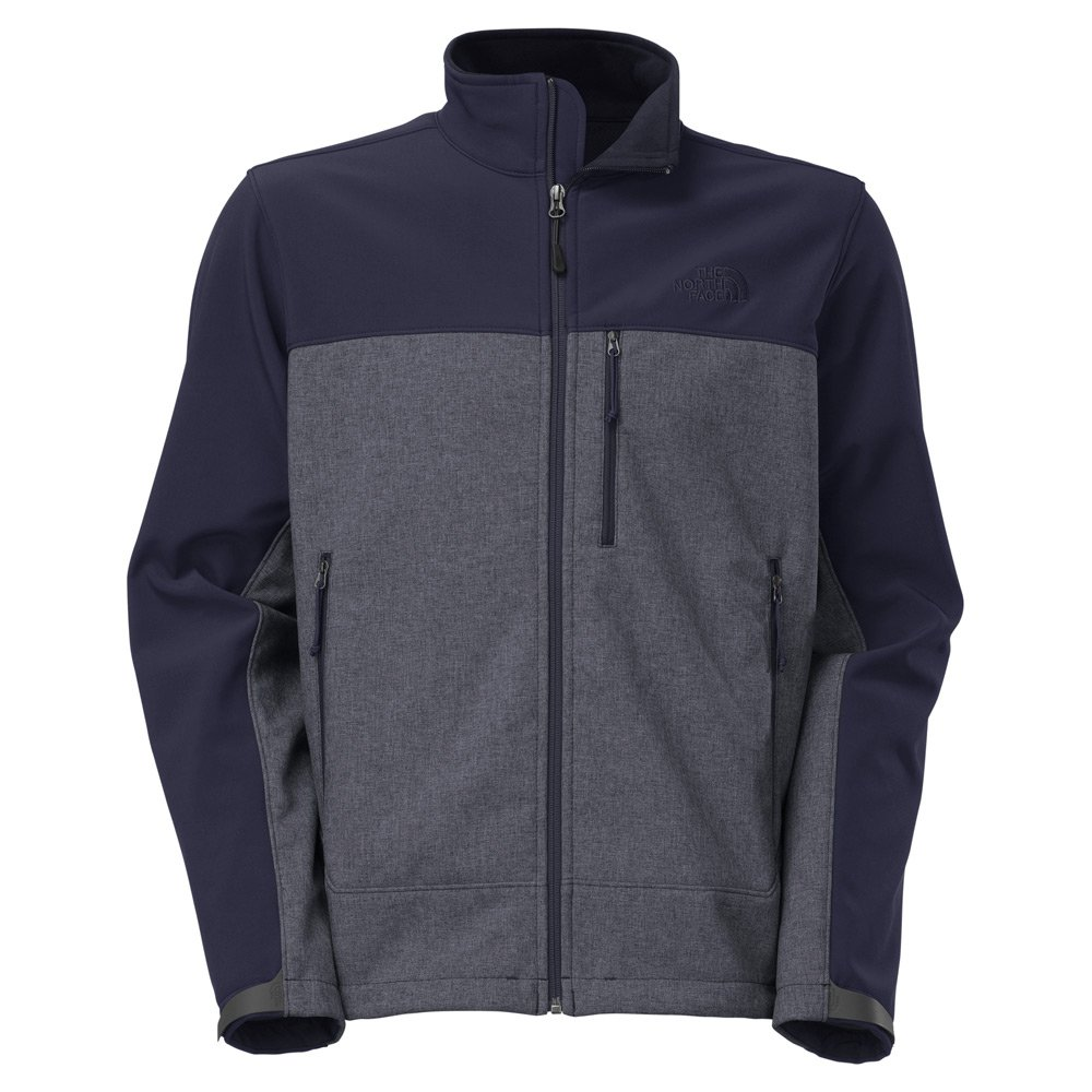 The North Face 611C757 Apex Bionic Jacket for Men, Cosmic Blue Heather & Cosmic Blue - Extra Large