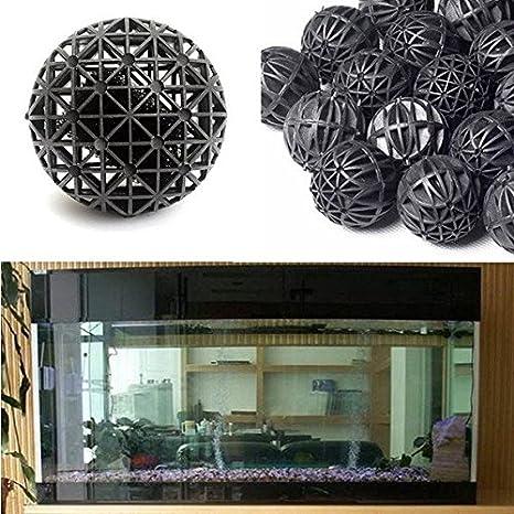 50pcs Acuario Pecera Biológico Filtro de bola bola de medios de comunicación/50pcs Acuario Pecera