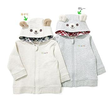 89ba5db383511  アウトレット Piccolo パーカー (70~90cm) キムラタンの子供服 キナリ 70