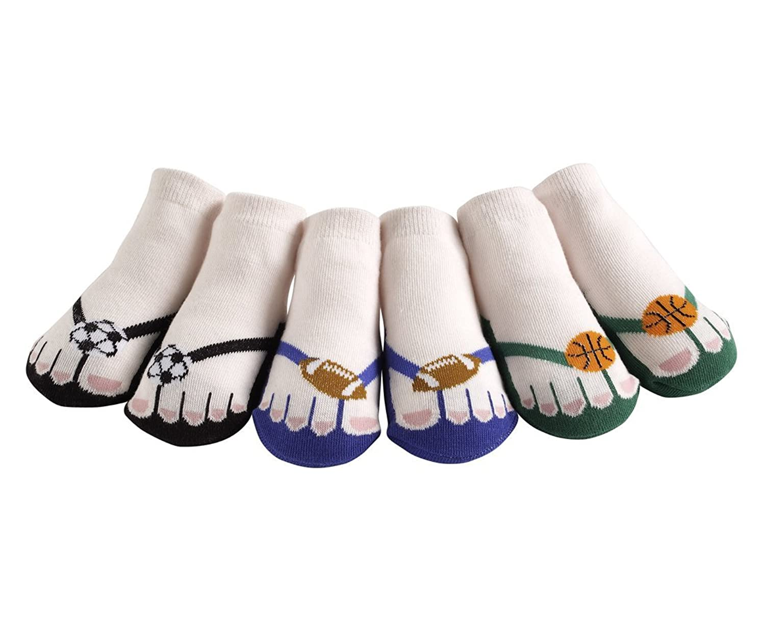 hot sell JazzyToes Little Athlete Flip Flops save more