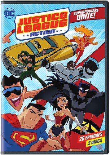 Justice League: Action Season 1 Part 1 (DVD) (Cartoon Network Fridays)