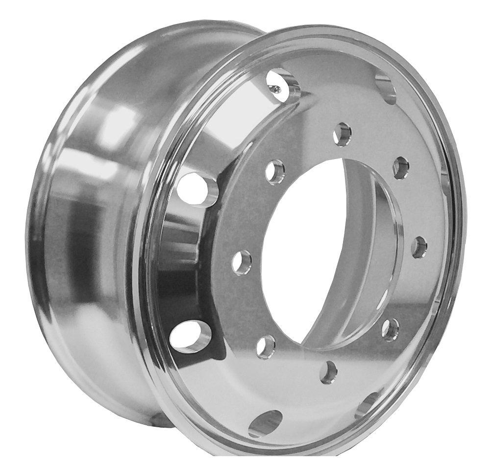 A196701RW GM KODIAK Aluminum Wheels 19.5 x 6.75 Hub Pilot PCD:8X275 (BOTHSIDE POLISHED - for All Position)
