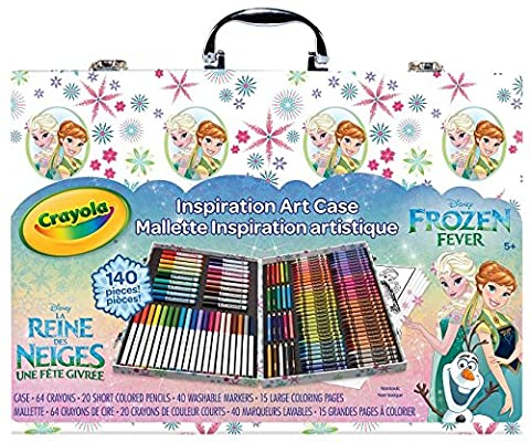 Crayola Frozen Inspiration Art Case, Styles May (Kit Pd)