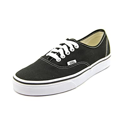 Vans Authentic Black White Mens Skate Shoes (11.5)