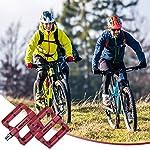 Zacro-Pedali-per-Bicicletta-Nuovo-Pedale-Piatto-per-Mountain-Bike-da-916in-Tessuto-di-Nylon-Antiscivolo-Adatto-per-BMXMTBBici-PieghevoleBici-da-Strada