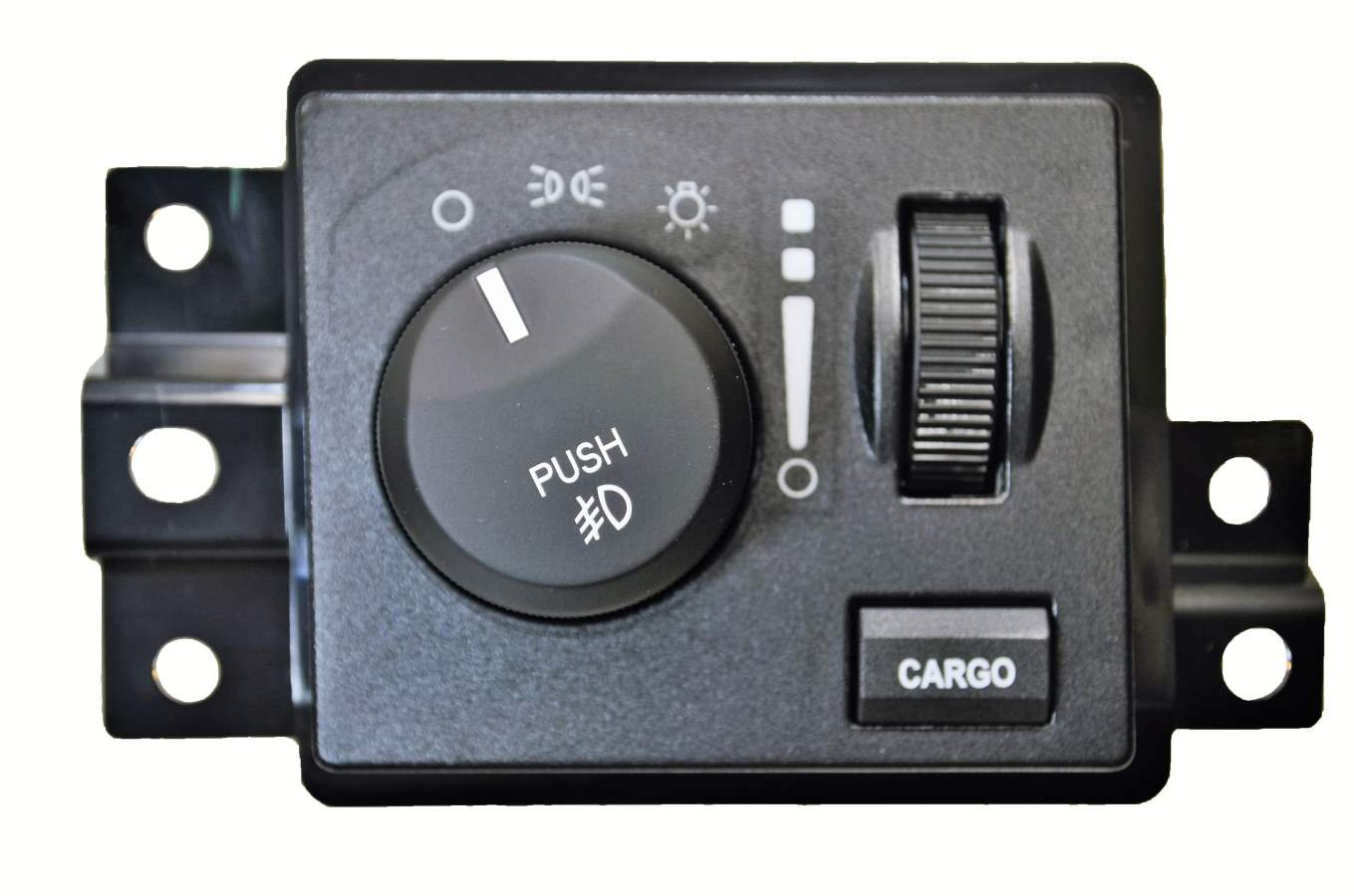 with Cargo Light PT Auto Warehouse HLS-7782 without Auto Headlights with Fog Lights Headlight Switch