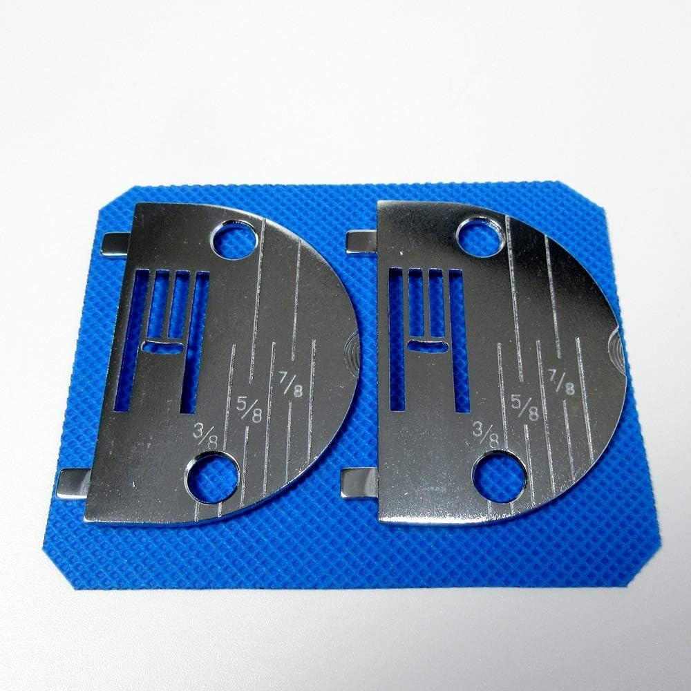 2 placas de aguja #Nz5Lg (Nz-5Lg) para máquinas de coser Brother, Nelco Home