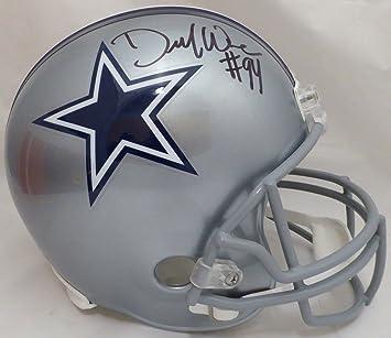 d4d5960a182 DeMarcus Ware Autographed Dallas Cowboys Full Size Replica Helmet Beckett  BAS