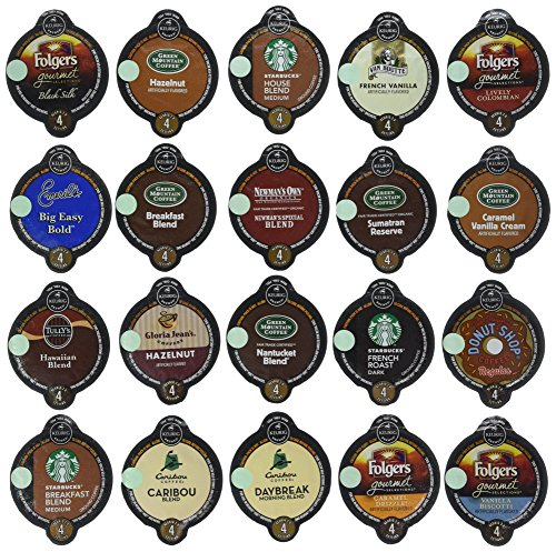 20-count VUE Pack for Keurig VUE Brewers ALL Coffee Variety Pack Featuring Starbucks, Green Mountain, Coffee People, Newman's Original Organic, Gloria Jean's, Folgers, Caribou, Emeril's, Tullys & Van Houtte. (Keurig Vue Cups Cappuccino compare prices)