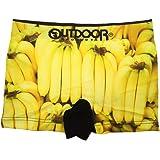 バナナ おもしろ ちょっとセクシー ちょっとエッチな 可愛い シームレスボクサーパンツ 男女兼用
