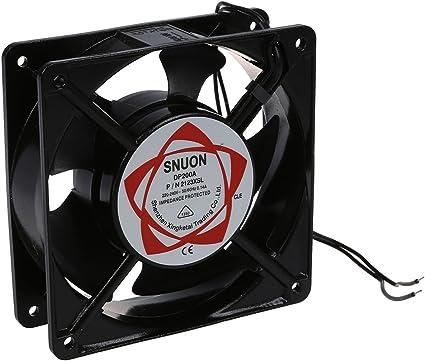 TOOGOO(R) refrigeracion Ventilador AC 220-240V 0.14A 120mmx120mm ...