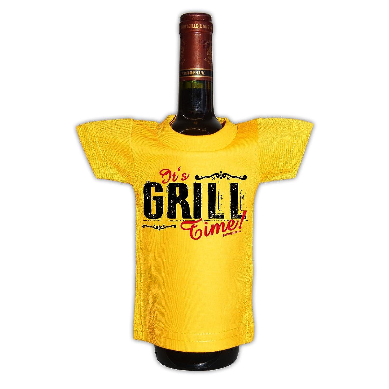 Grill T-Shirt Geschenk zur Grillfete Grill Regel Grill Party Geschenk zur  Grillsaison mit Mini Shirt Farbe: schwarz: Amazon.de: Bekleidung