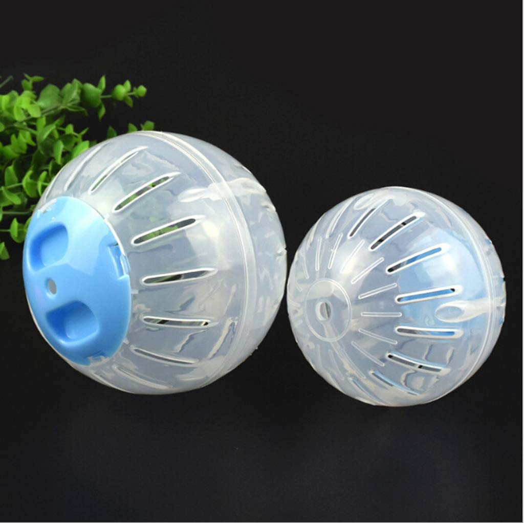 niumanery Hamster Running Exercise Wheel Ball Lovely Small Animal Chinchillas Rat Mice Playground Pet Toys Cage Supplies Blue S